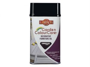 Garden ColourCare Decorative Furniture Oil Carbon Black 500ml