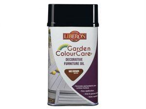 Garden ColourCare Decorative Furniture Oil Mid Brown 500ml