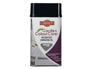Garden ColourCare Decorative Furniture Oil Sandy Grey 500ml