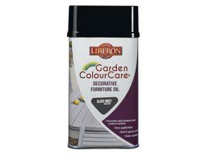 Garden ColourCare Decorative Furniture Oil Slate Grey 500ml
