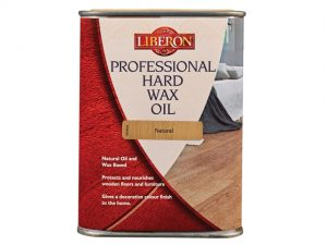 Professional Hard Wax Oil Natural 1 Litre