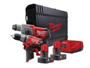 M12 CPP2B-602X Fuel™ Promo Kit 12 Volt 2 x 6.0Ah