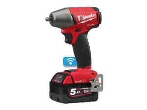 M18 ONEIWF38-502X Fuel™ ONE-KEY™ 3/8in F Ring Impact Wrench 18V 2 x 5.0Ah Li-Ion