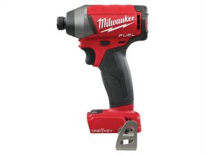 M18 ONEID-0 Fuel™ ONE-KEY™ 1/4in Hex Impact Driver 18 Volt Bare Unit