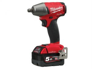 M18 ONEIWF12-502X Fuel™ ONE-KEY™ 1/2in FR Impact Wrench 18 Volt 2 x 5.0Ah
