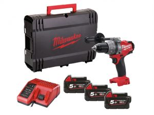M18 SET1D-503X Fuel™ Percussion Drill 18 Volt 3 x 5.0Ah Li-Ion