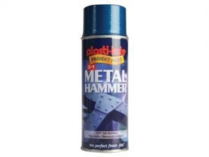 Metal Paint Hammer Spray Toolbox Blue 400ml