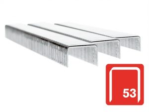 53/6B 6mm Galvanised Staples Box 2500