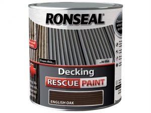 Decking Rescue Paint English Oak 5 Litre