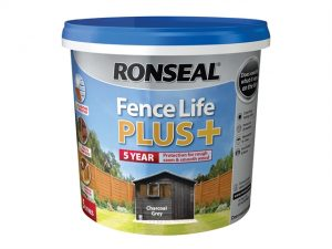 Fence Life Plus+ Charcoal Grey 5 Litre