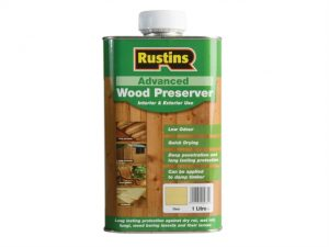 Advanced Wood Preserver Clear 1 Litre