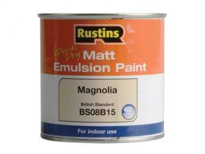 Quick Dry Matt Emulsion Paint Magnolia 250ml