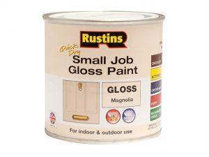 Quick Dry Small Job Gloss Paint Magnolia 250ml