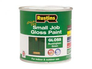 Quick Dry Small Job Gloss Paint Buckingham Green 250ml