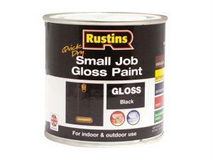 Quick Dry Small Job Gloss Paint Black 250ml