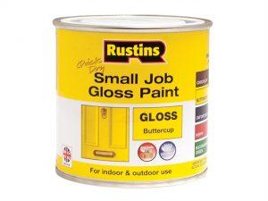 Quick Dry Small Job Gloss Paint Buttercup 250ml