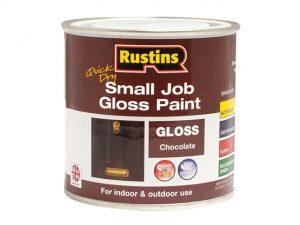 Quick Dry Small Job Gloss Paint Chocolate 250ml
