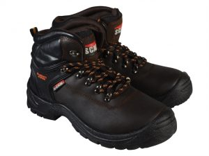 Lynx Brown Safety Boots UK 11 Euro 46
