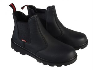 Ocelot Black Dealer Safety Boots UK 11 Euro 46