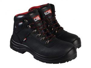 Serval Black Ankle Boots UK 10 Euro 44