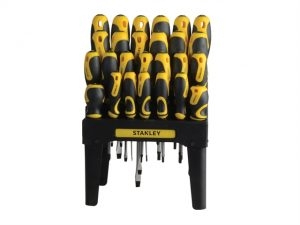 062142 Screwdriver Set In Rack 26 Piece