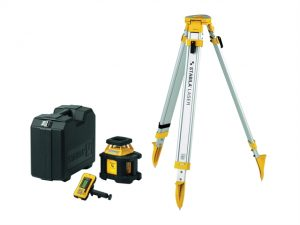 LAR200 Self Levelling Auto Rotation Laser + REC300 & BST-S Tripod