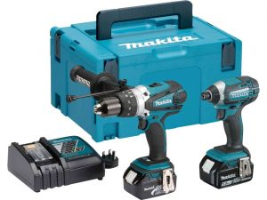 Makita DLX2145 with Li-on Hammer Drill and Impact Driver kit