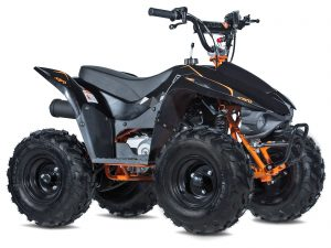 Matt Black Fox 70 ATV - KAYO
