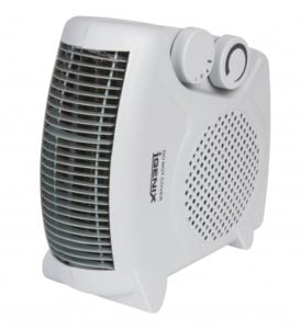 The upright fan heater - Igenix IG9010 2kW in White