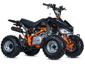 Orange and Black ATV - Raging Bull
