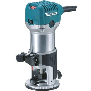 "Makita RT0700CX4 1/4"" Router / Laminate Trimmer with Trimmer Guide 110v"