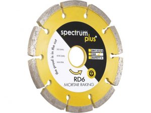 Spectrum RD6-115/22 RD6 Mortar Raking Diamond Blade 115mm x 22mm bore