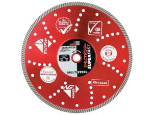 Spectrum TX10R-115/22 TX10R Multi Diamond Blade 115mm x 22mm bore
