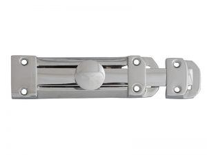 FGEHLATVSCCH Backplate Handle Latch Scroll Chrome Finish 102mm