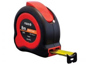 Width 25mm Fisco FSCTL8ME TL8ME Tri-Lok Pocket Tape 8m//26ft