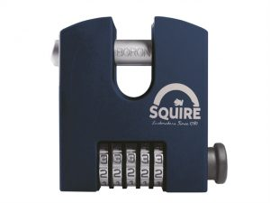 Henry Squire HSQSS50CCOM SS50 Hi-Security Combination Padlock 50mm Closed Shackl