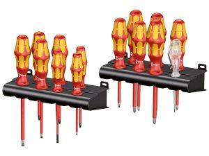 Wera Kraftform Plus VDE Stainless Steel Screwdriver Set of 7 SL//PH WER022728